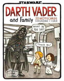 Darth Vader and Family Notecards Book