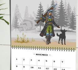 The Masters of Pixel Art Calendar