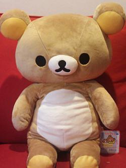 Rilakkuma Bear Plush large