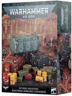Munitorum Armoured Containers - Battlezone Manufactorum