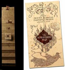 Harry Potter Replica 1/1 Marauder's Map