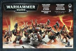 Khorne Berzerkers Battle Squad