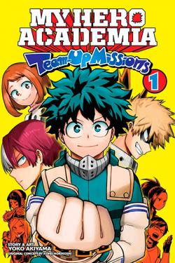 My Hero Academia Team-Up Missions Vol 1