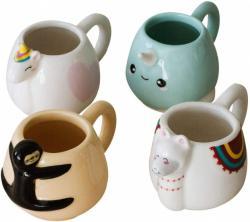 Animal Espresso Mug Set