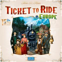 Ticket to Ride Europe 15th Anniversary Edition (English)
