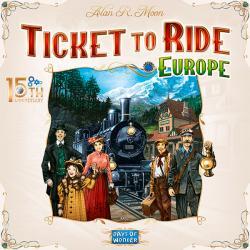 Ticket to Ride Europe 15th Anniversary Edition (Skandinavisk Utgåva)