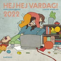 Hej hej vardag! Familjekalender 2022