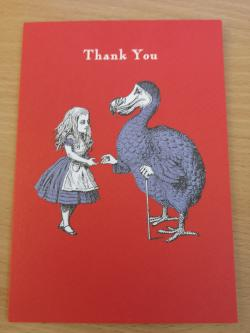 Alice Dodo thank You Card