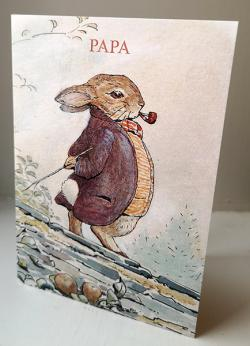 Papa With Pipe Card