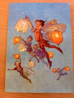 Fairy Land With Lanterns Card