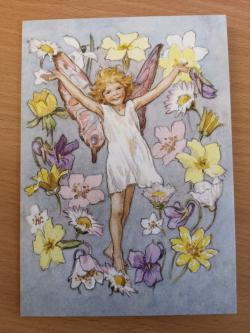 Fairy Land With Daisies Card