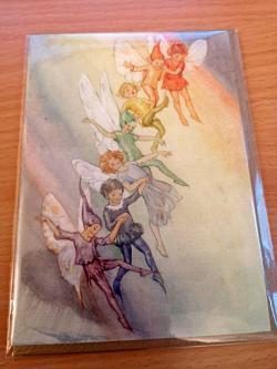 Fairy Land With Raindbow Card
