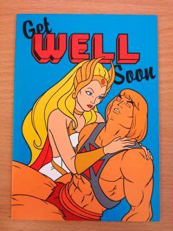 He-Man Get Well Soon Card