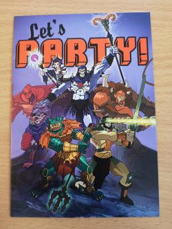 He-Man Let's Party! Card
