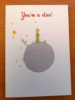Little Prince You're a Star Card