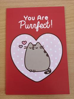 Pusheen Perfect Card