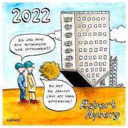 Robert Nyberg väggkalender 2022