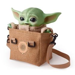 Electronic Plush Figure with Shoulder Bag The Child (Baby Yoda)