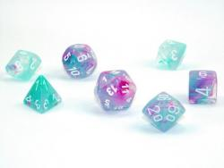 Nebula Wisteria/White (set of 7 dice)
