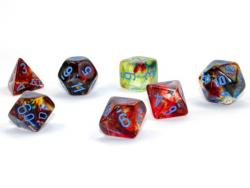 Nebula Primary/Blue Luminary (set of 7 dice)