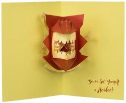 Howler Pop-Up Card