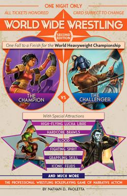 World Wide Wrestling The Roleplaying Game (Second Edition)