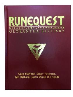RuneQuest - The Glorantha Bestiary (Limited Leatherette Edition)