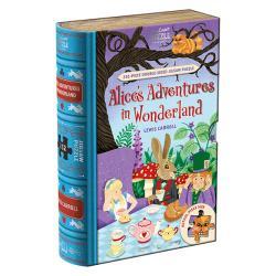 Alice in Wonderland Dubbelsidigt Pussel 252 bitar