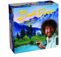 Bob Ross: A Happy Little Day-to-Day 2022 Calendar