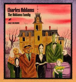 Charles Addams: The Addams Family 2022 Wall Calendar