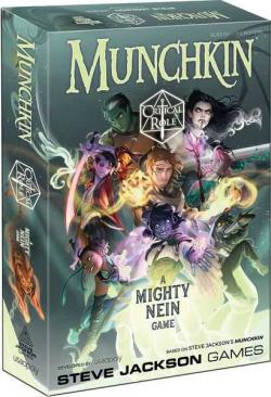 Munchkin Critical Role - A Mighty Nein Game