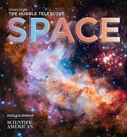 Space - Views from the Hubble Telescope 2022 Calendar