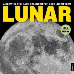 Lunar Glow-in-the-Dark 2022 Wall Calendar