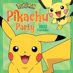 Pokemon Pikachu Party 2022 Wall Calendar
