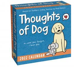 Thoughts of Dog 2022 Day-to-Day Calendar