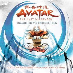Avatar The Last Airbender 2022 Collector's Edition Wall Calendar