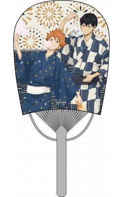 Mini Oval Uchiwa Fan: Hinata & Kageyama
