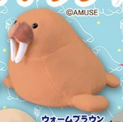 Walrus Plush Mini Warm Brown