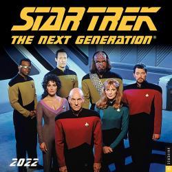 Star Trek The Next Generation 2022 Wall Calendar