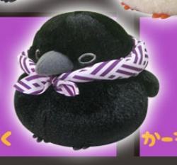 Fuku Fuku Crow Plush: Delivery Kazo