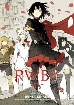 RWBY: The Offical Manga Vol 3: Beacon Arc