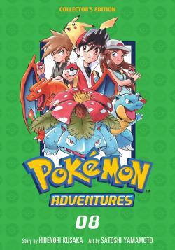 Pokemon Adventures Collector's Edition Vol 8