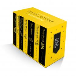Harry Potter Hufflepuff Box Set Vol 1-7 (House Edition)