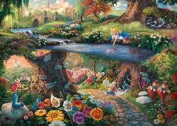 Disney Puzzle - Alice in Wonderland (1000 pieces)