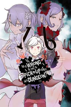 Is It Wrong To Try To Pick Up Girls in a Dungeon Novel 16