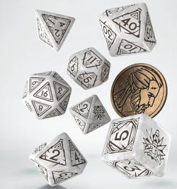 Witcher Dice Set: Geralt (The White Wolf)