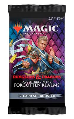 Magic Adventures in the Forgotten Realms  - Set Booster