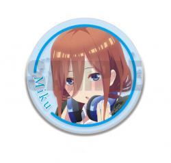 3W Can Badge Nakano Miku