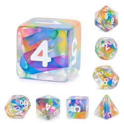Faux Prism Dice (Set of 7 dice)