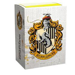Harry Potter Boardgame Sleeves Hufflepuff Standard